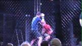 Doppelte Nokaoyt MMA-Kampf