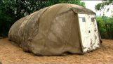 Палатка из цемента
