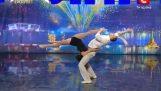 เต้นน่ารักสองจากยูเครน