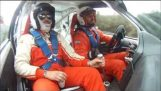 Hilarious duo in the Rally Sprint Koleni-Caledonia