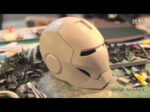 Шлем железного человека сделать своими руками