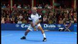 שחקנית הטניס משעשע ביותר