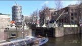 Ostry Włącz kanałów w Amsterdamie