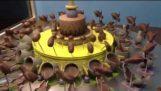 चॉकलेट द्वारा एक zwotropio
