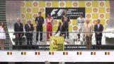 Greenpeace contra Shell en el gran premio de Bélgica
