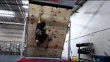 Treadwall: La salle d'escalade