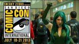 Косплей на Comic-Con звіт 2013