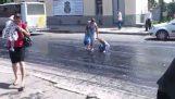 Freskostrwmenos Straße in Russland