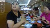 जापान में वेटर बिना भोजनालय