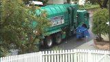 자동 가비지 트럭 문제가