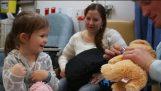 مفاجأة للأطفال التي تحارب السرطان