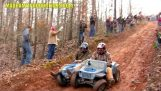 Extreme Rennen mit Kinder-Spielzeug-Autos