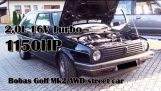 Golf MK2 1150 ίππων