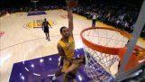 Top 10 dunks van de NBA 2013