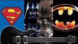 Famous film soundtracks on electric guitar
