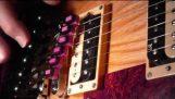 Nouvelle invention transforme les cordes de la guitare, aux claviers