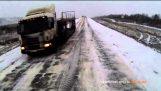 Επεισοδιακή οδήγηση στον πάγο