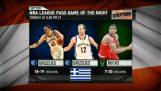 在 NBA 的希腊夜晚