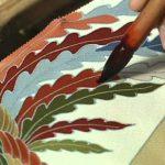 Yuzen: Χειροποίητη ζωγραφική και βαφή για τα Κιμονό