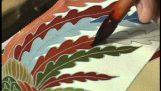 Yuzen: हाथ चित्रकला और रंगाई के लिए कीमोनो