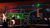 Les Daft Punk et Stevie Wonder effectué le « Get Lucky »
