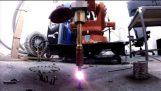 Denne maskinen 3D-utskrifter metall