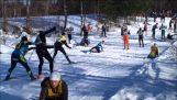 Καραμπόλα με σκι