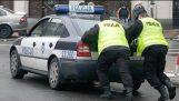 Τηλέφωνο-μπισκότο εναντίον αστυνομίας