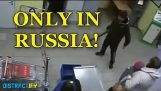 The Average Day In A Russian Supermarket