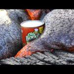 Λάβα εναντίον κονσέρβας ζυμαρικών