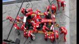 Το τέλειο pit stop της Ferrari