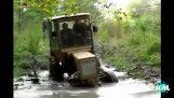 Traktorn misslyckas