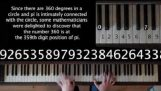 Δημιουργία μουσικής από τους αριθμούς του π