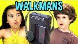 बच्चों के लिए walkmans प्रतिक्रिया