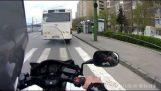 好的摩托車騎手