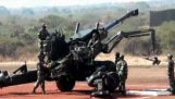 77B Field Howitzer demonstration, bought to you by the Ministry of Silly Walks