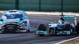 Ken Block möter Lewis Hamilton