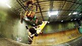 Tony Iawk: Gesynchroniseerd schaatsen