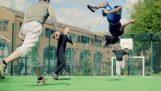 Ένα συναρπαστικό παιχνίδι ποδοσφαίρου
