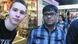 Selfie з незнайомими людьми
