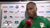 Didier Drogba the complains about the shootout (Parody)