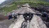 Ένας τρελός ποδηλάτης