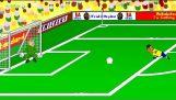 БРАЗИЛИЯ срещу ХЪРВАТСКА 3-1 от 442oons (Световно първенство по футбол 2014 Cartoon)
