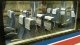 Τα αυτόματα καθίσματα στο Ιαπωνικό τρένο