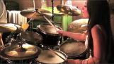 "A terrible drummer interprets the ""B Y. O. B."""