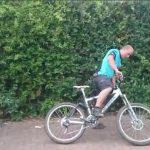 Le cycliste ivre