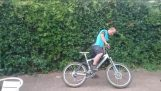 Opilý cyklista