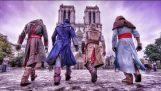 Parkour στο Παρίσι για το νέο Assassin's Creed