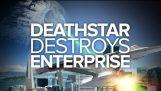 死星摧毁企业