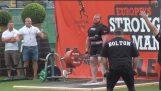 Uomo più forte dell'Europa 2014 – Nuovo record mondiale di stacco – Benedikt (Benni) Magnusson